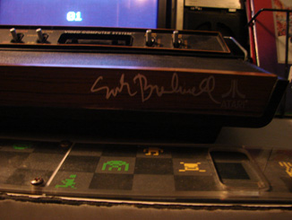 Atari 2600 Signed by Nolan Bushnell