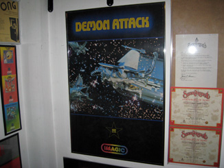 Demon Attack Imagic Poster